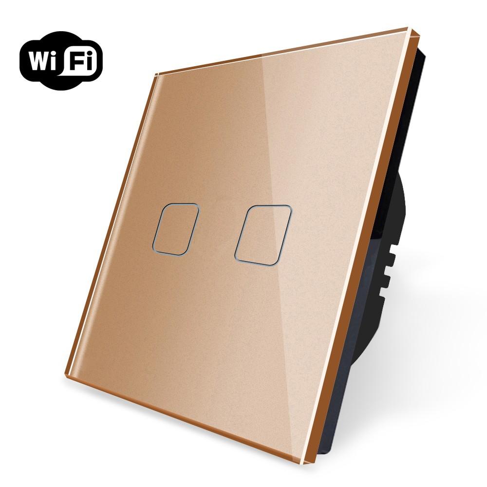 Interruptor Wifi Duplo - Série 80