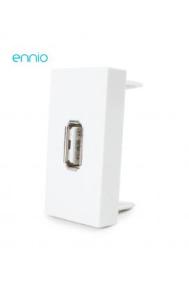 Módulo Tomada USB (BRANCO)