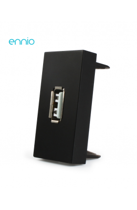 Módulo Tomada USB (PRETO)